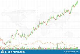 Financial And Technology Concept With Graphs And Charts On