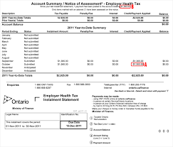 Understanding Your Eht Monthly Account Summary Notice Of