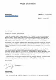 Letters Of Support Mayor Of London Boris Johnson 17 24