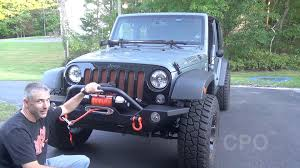 barricade 9500lb synthetic winch install extreme terrain