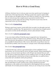 the best good essay example ideas essay writing  how to get started writing an essay the best estimate connoisseur