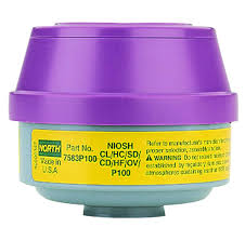North N7583p100 Yellow Magenta Particulate Filter Cartridge