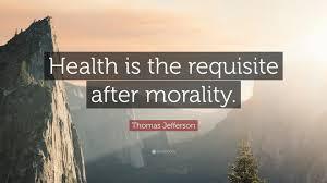 Thomas Edison Health Quote And Thomas Jefferson Quote Health Is