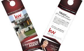 keller williams door hangers. keller williams door hangers business card slits, rip cards, holder and r