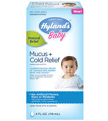 Hylands Baby Mucus Cold Relief Hylands Homeopathic