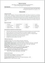Blue Collar Resume Examples