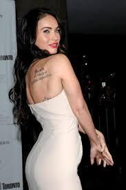 Megan Fox Tattoo Photo The Hollywood Gossip