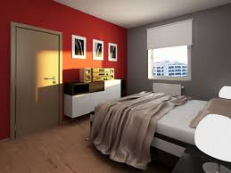 Painting Accent Walls In Bedroom Painting Wonderful Painting Design Fashionable Red And Grey Accent
