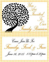 Printable Family Reunion Invitations Family Reunion Invitation Free Printable Family Reunion