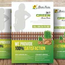 Services Flyer Garden Services Flyer Template Template For Free Download On Pngtree