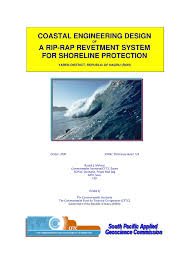 Design Of Riprap Revetment Pdf Coastal Engineering Design Of A Rip Rap Revetment For