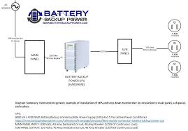 wiring diagrams for hardwire ups battery backup power inc hardwire ups wiring diagram 6kva 240 volt input 120 volt output
