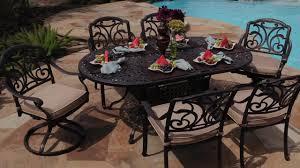 7 piece patio dining set. San Paulo 7-piece Patio Dining Set \u0026raquo; Foremost - Veranda Classics Lawn Video Gallery 7 Piece U