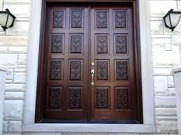 front door doubleDoor Double  Mahogany Solid Wood Front Entry Door  Double