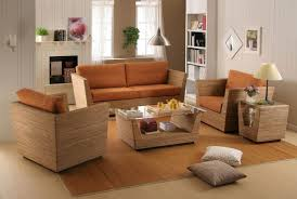 brown sofa sets. Rattan Accent Chair Elegant Comfortable Sofa Sets Floral Pattern Black Oak Wood Piano Teak Coffee Brown
