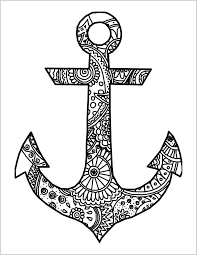 2550x3300 navy anchor coloring pages 322556 simple free 19
