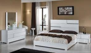 Vig Furniture VGACANCONA-SET-WHT Modrest Ancona Italian Modern White Bedroom Set sale at Contemporary Furniture Warehouse. Today only.