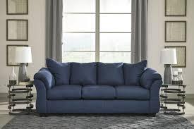darcy full sleeper sofa 7500736 ashley blue