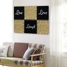 live laugh love canvas wall art bedroom