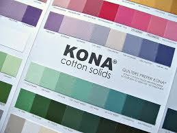 Saltwater Quilts Robert Kaufman Kona Cotton Card