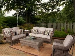 south sea rattan provence 5 piece wicker conversation set