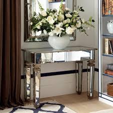 mirror console table decor