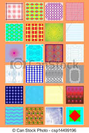 Different Types Of Patterns Gorgeous Types Of Handkerchiefs Tissues With A Different Pattern On An