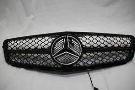 1pcs car front grille badge emblem grill for mercedes benz amg w212 w202 w211 w210 w205 cla cls gt g63 gtr t shape goods. Grilles For 2014 Mercedes Benz C300 For Sale Ebay