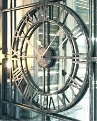 hugedomains com mirror wall clock