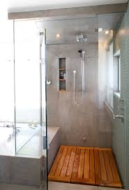 timber shower floor; definitely a consideration for the bathroom redo | in