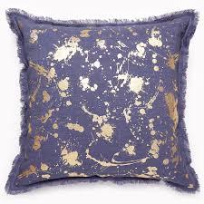 gilded drip throw pillow  modern décor  pillows  jonathan adler