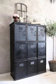 industrial looking furniture. jeanne du0027arc black metal cabinet with an industrial look for a hallway or workroom looking furniture o