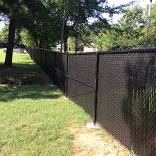 Black Chain Link Fence Privacy Slats Gazebo decoration