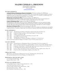 Air Force Resume Examples Air Force Military Resume Resume Samples