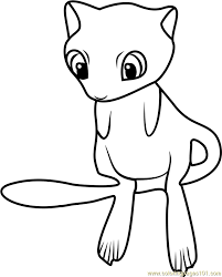 Small Picture Mew Coloring Sheets Coloring Coloring Pages