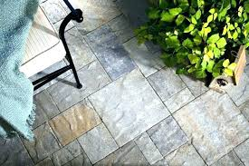outdoor patio tiles over concrete slate tile flooring options porch
