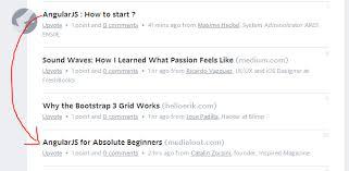 AngularJS : How to start ? – Designer News