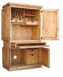 computer armoire rustic office furniture76