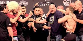 Image result for Khabib Nurmagomedov vs. Conor McGregor