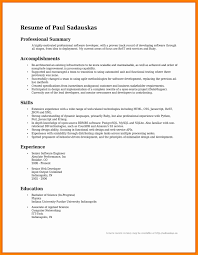 Technical Support Specialist Resume Best Of Summary Resume Examples