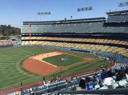 Dodger Stadium Section 31rs Home Of Los Angeles Dodgers