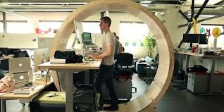cubicle office space. office space of the future bans sitting cubicle
