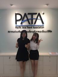 beginning a new working experience at head office in bangkok aruroa and wendy