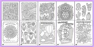 Mindfulness Colouring Sheets For Kids Bumper Pack
