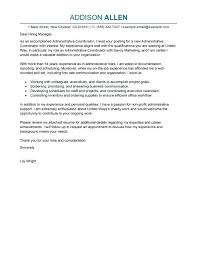 Administrative Office Manager Cover Letter Covering Letter For Admin