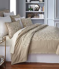 Southern Living Bedroom Southern Living Veranda Scroll Embroidered Cotton Linen Duvet