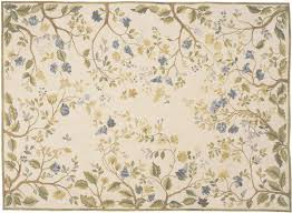 cream blue yellow and green rug blue summer