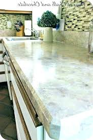 paint over laminate how to your look like granite countertops that marble painting s