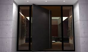 terrific modern black door modern double exterior doors with stainless steel stripes steel