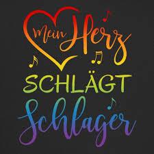 Simsalapimp Mein Herz Schlägt Schlager Regenbogen Spruch Musik